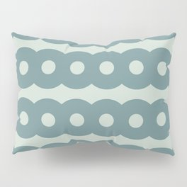 Rings in Teal Pillow Sham