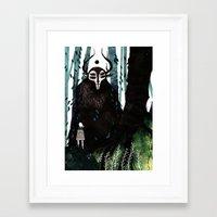 hunter Framed Art Prints featuring HUNTER by tarmasz