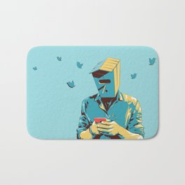 Birdman Bath Mat