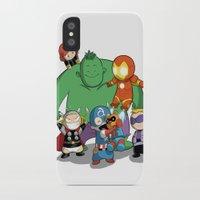 avenger iPhone & iPod Cases featuring The Baby Avenger-s by Vivalski