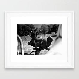 Puerile Framed Art Print