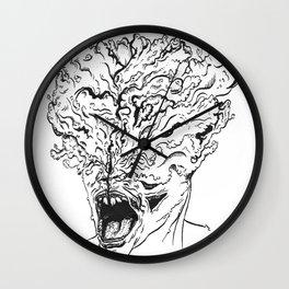 Portrait of a Clicker Wall Clock