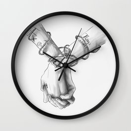 Together, we won't sink Wall Clock