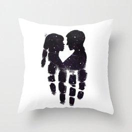 Peaceful love Throw Pillow