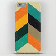 Mid Century Chevron Art Slim Case iPhone 6s Plus