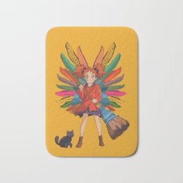 Mary and the Witch's Flower Bath Mat
