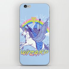 Pizza Wizard iPhone & iPod Skin