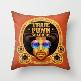 True Funk Soldiers 1 Throw Pillow