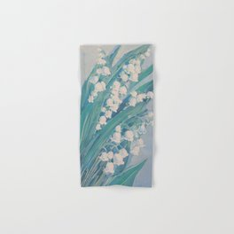 Lily of the valley Hand & Bath Towel