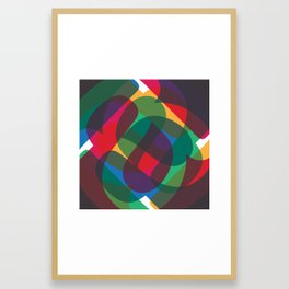 Abstract A Print Framed Art Print