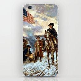 Washington At Valley Forge iPhone Skin