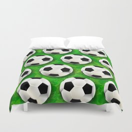 Soccer Ball Football Pattern Duvet Cover