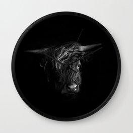 Highland Portrait Wall Clock