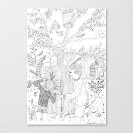 beegarden.works 006 Canvas Print
