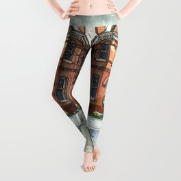 Victorian Eclectic in The Avenues Leggings