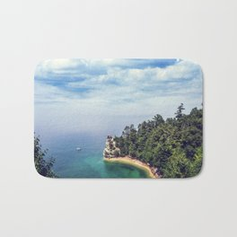 Miners Castle rock formation Bath Mat