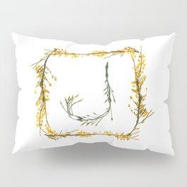 "Seaweed Alphabet ""J"" Pillow Sham"