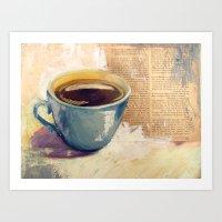 Morning Bliss Art Print