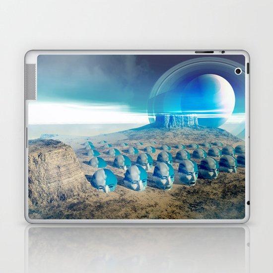 yellow desert Laptop & iPad Skin