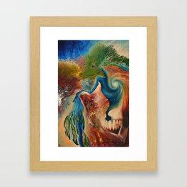 Terrene Genealogy Framed Art Print