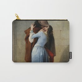 The Kiss by Francesco Hayez Carry-All Pouch