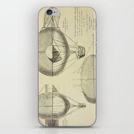 Mathieu's Airship Project iPhone Skin