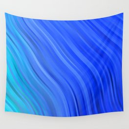 stripes wave pattern 1 c80v Wall Tapestry