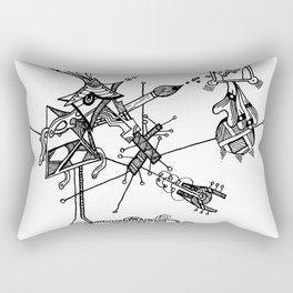 Threadbare Rectangular Pillow