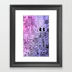 Funky Town pt. 1 Framed Art Print