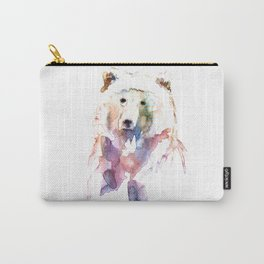 Bear / Abstract animal portrait. Carry-All Pouch