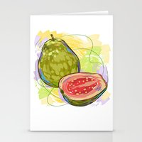 vietnam Stationery Cards featuring Vietnam Guava by Vietnam T-shirt Project