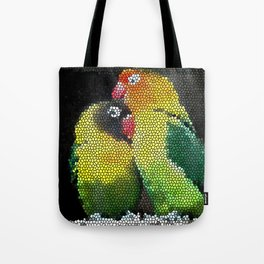 Love Parrots Creative Design Tote Bag