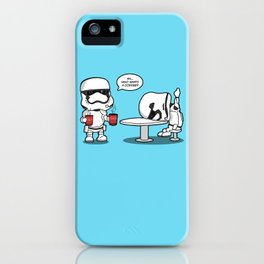 Hard day? At least your base didn't blow up. iPhone Case