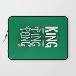 The King of Ping Pong Laptop Sleeve