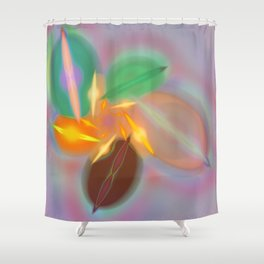 Abstract lighteffects -20- Shower Curtain