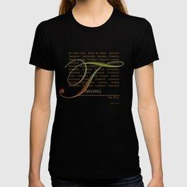 Sign Language for Taurus T-shirt