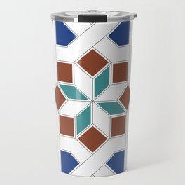 Geometric Pattern - Oriental Design Pt. 7 Travel Mug