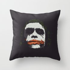 J. Throw Pillow