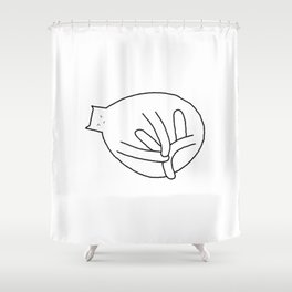 Cat 79 Shower Curtain