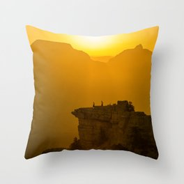 Grand Canyon sunrise Throw Pillow