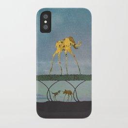 Dalimt Prehistoric Fantasy iPhone Case