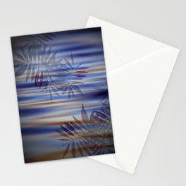 fern lake shadows purple Stationery Cards