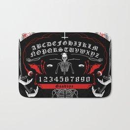OUIJA Board Skull Bath Mat