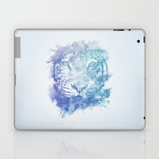 Abstract Watercolor Tiger Portrait / Face Laptop & iPad Skin