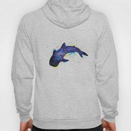 Whale shark, watercolour Hoody