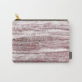 Brown marble watercolor design Carry-All Pouch