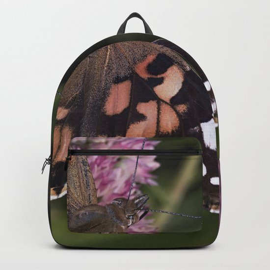 Painted Lady Butterfly Backpack