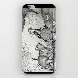 Storms, Bears, Berries, Birds, and Leaflings iPhone Skin