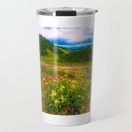 Alpine Balsamroot Travel Mug