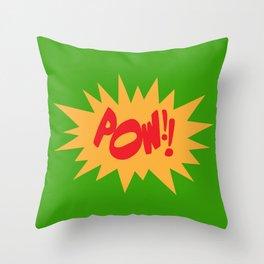POW!! Throw Pillow